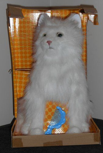 Furreal Friends White Kitty Cat 2006 66520 Adoption Certificate