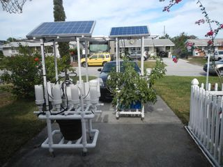 Build This Solar Powered Hydroponic Water Garden on Wheels  MUST READ! is part of Hydroponic gardening, Hydroponics diy, Hydroponics, Hydroponic farming, Backyard aquaponics, Hydroponic growing - Build This Solar Powered Hydroponic Water Garden on Wheels  MUST READ! Build this amazing solar powered, completely self contained hydroponic garden and grow the largest flowers,the tastiest fruits and vegetables that you can actually live on year round  Designed for outdoor use it can just as easily be used indoors