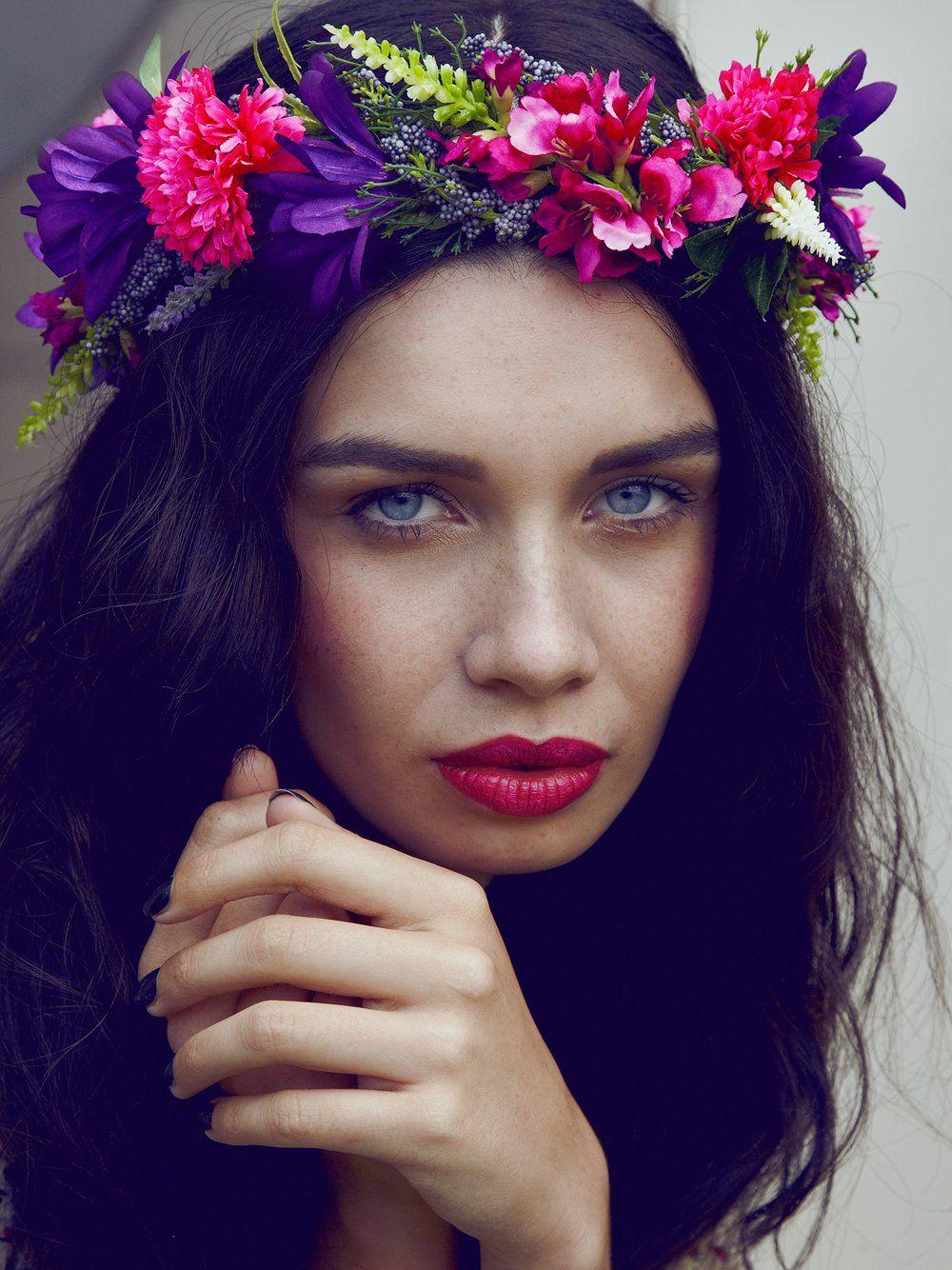 Hair accessories headbands uk - Clementine Floral Crown Garland Headband Rock N Rose From Rock N Rose Uk