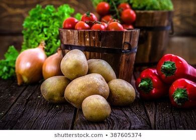 Fresh organic vegetables Food background Healthy food