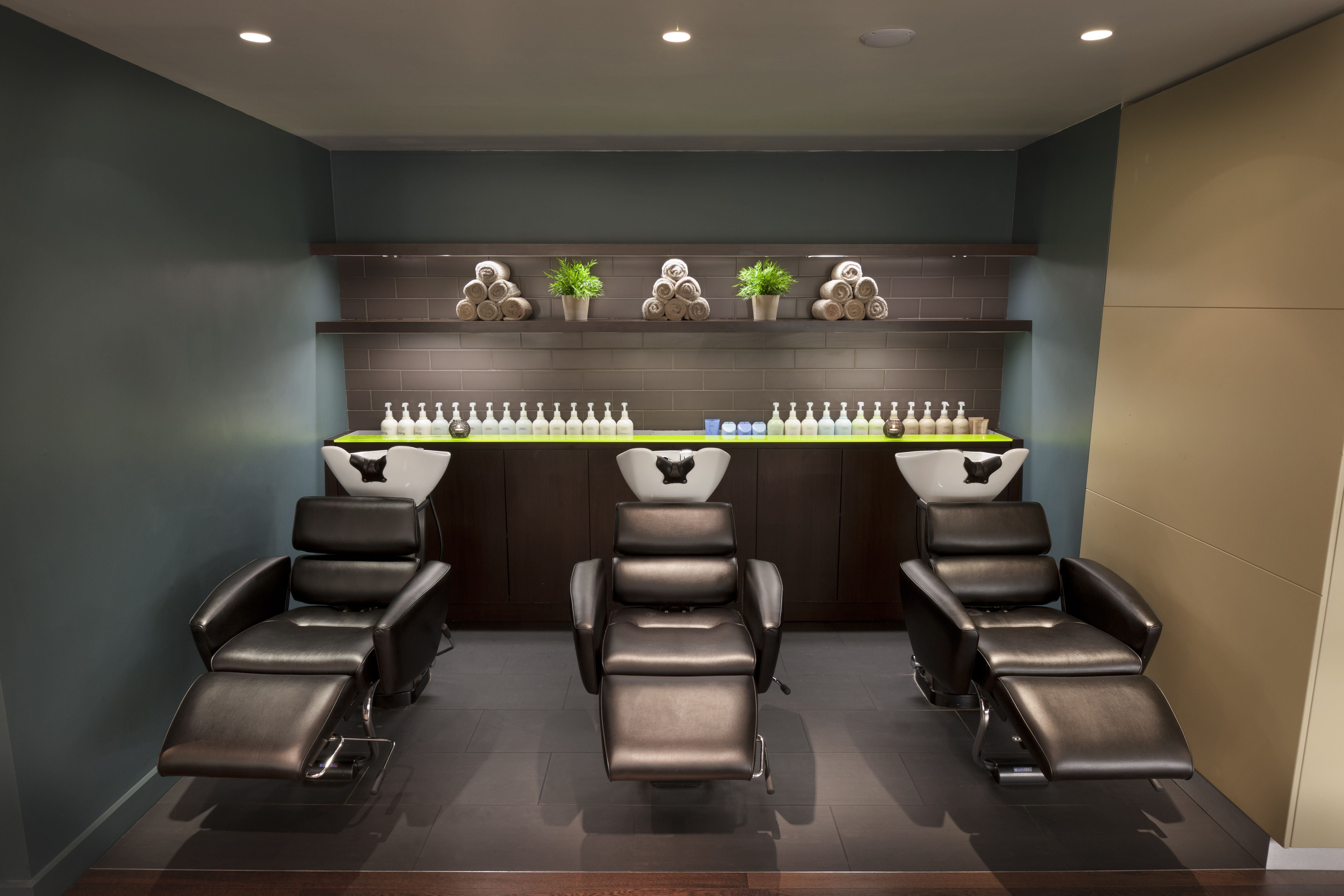 Gina conway aveda chelsea shampoo stations salon spa for Beauty salon in uae