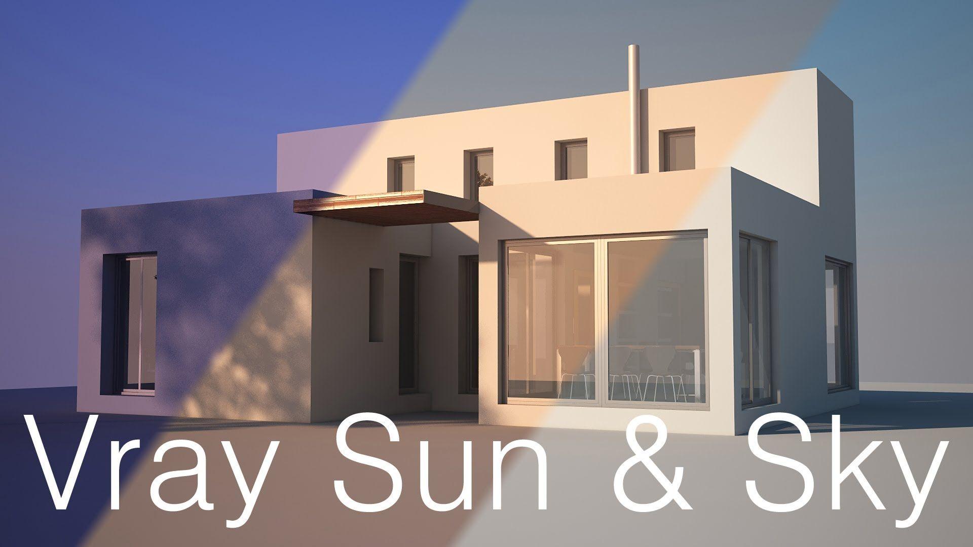 Vray Lighting Tutorial Vray Sun And Sky For Beginners Rendering Pinterest Tutorials 3ds
