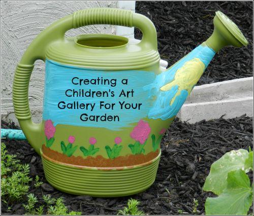 childrens art ideas in your garden - Garden Art Ideas For Kids