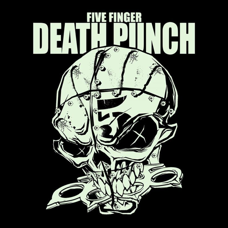 Five Finger Death Punch T-Shirt - Knucklehead Glow-In-The-Dark, 19 ...