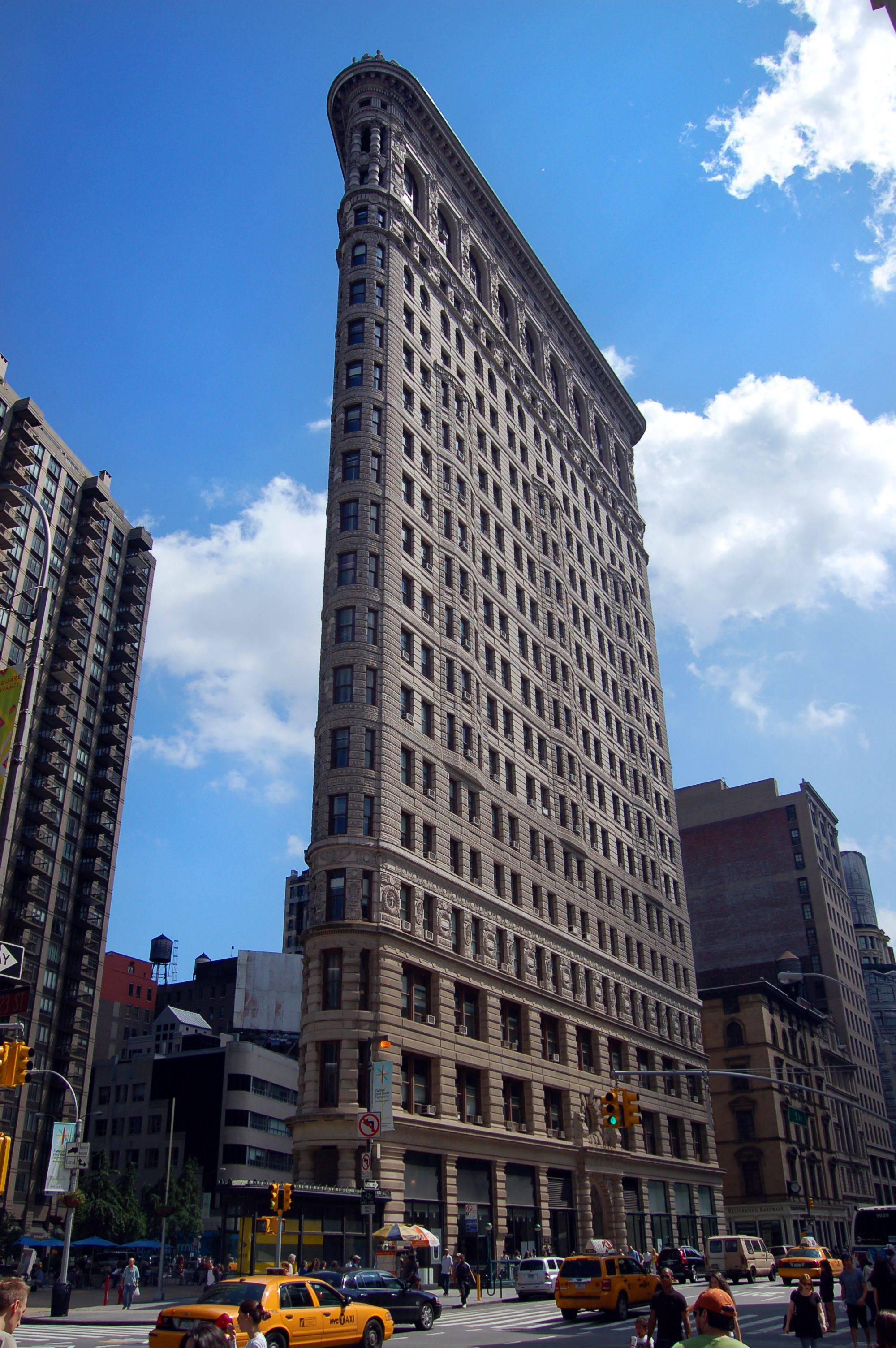 The Flatiron building is part of NYC's history, built in 1902. Visit Duane  Reade