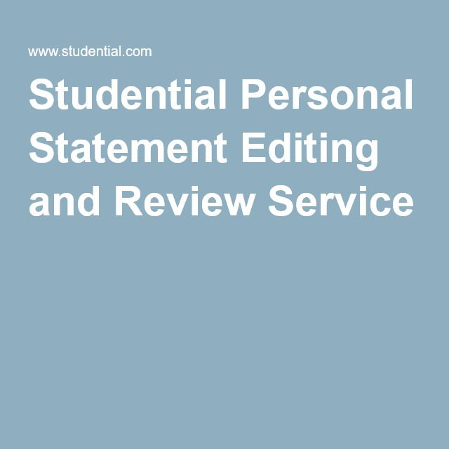 ucas personal statement studential
