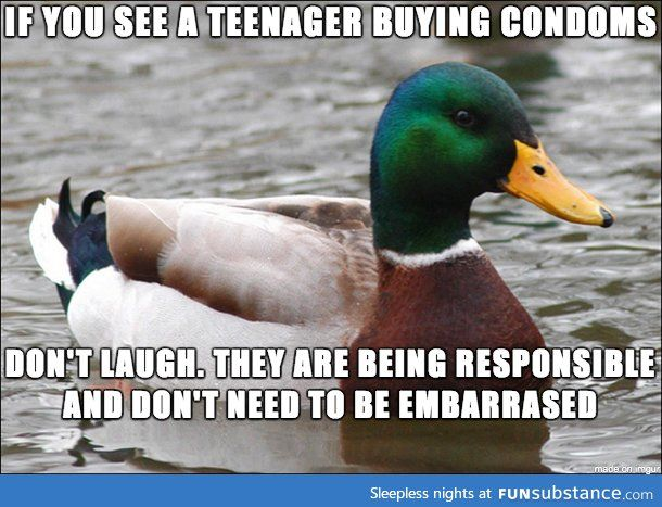 It doesn't encourage anything, it just makes it worse for them