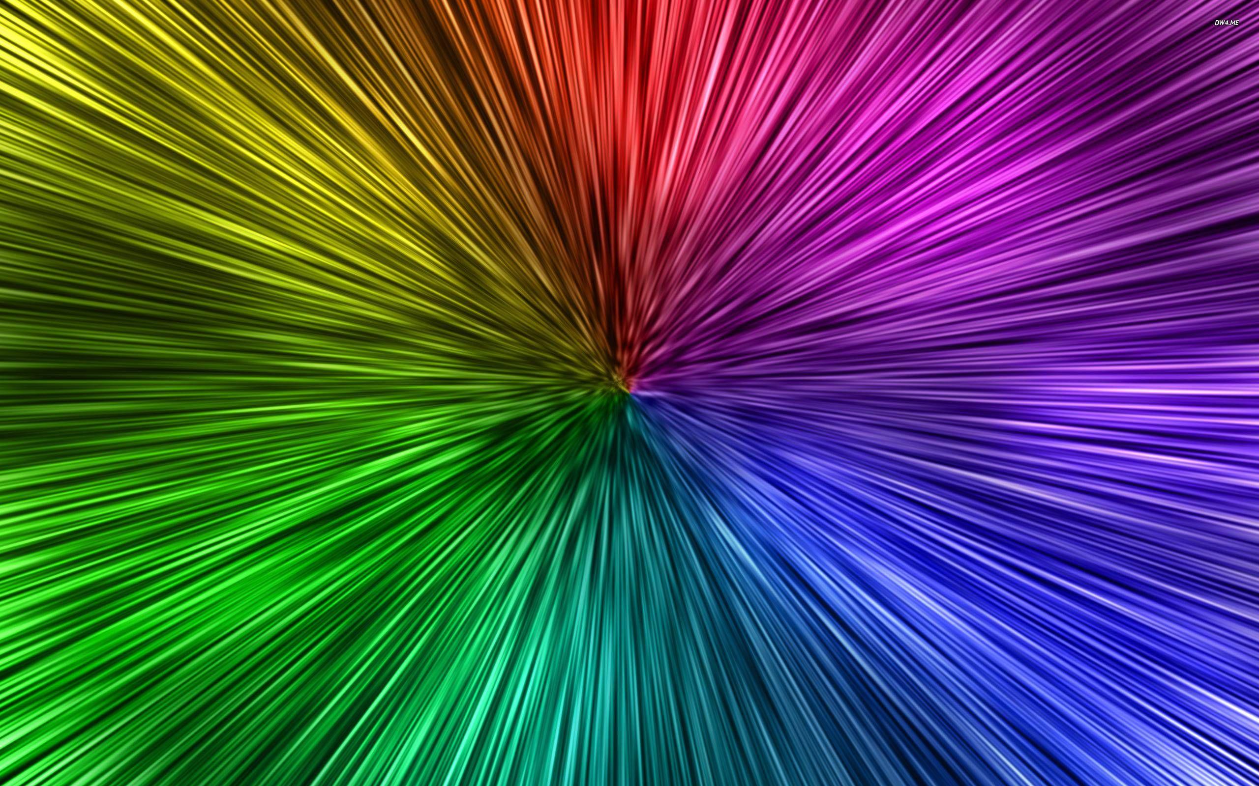 Dye Tie Rainbow Screensaver