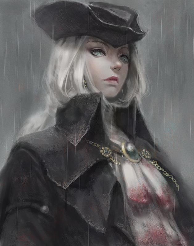 Lady Maria By Seki88441 Bloodborne Art Bloodborne Dark Souls Art
