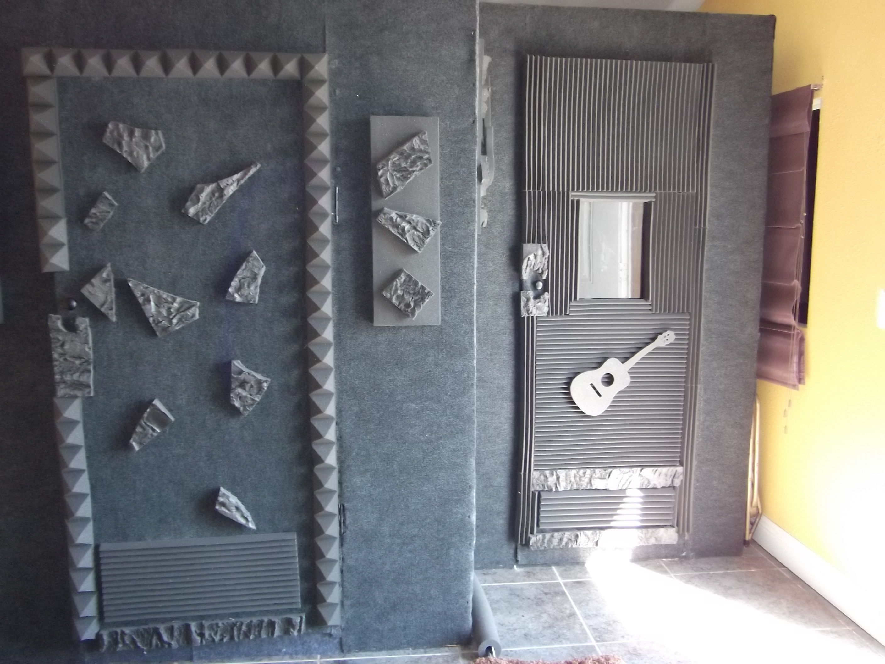 drum cave and vocal booth my diy music studio pinterest drums