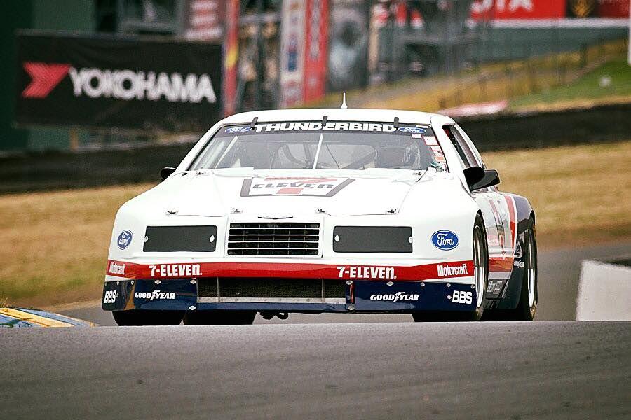 Brooks Racing IMSA GTO T-Bird 1984   Ford racing, Sports ...