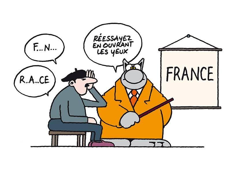 Réflexion Sur Les élections Le Chat Geluck Le Chat Bd Et
