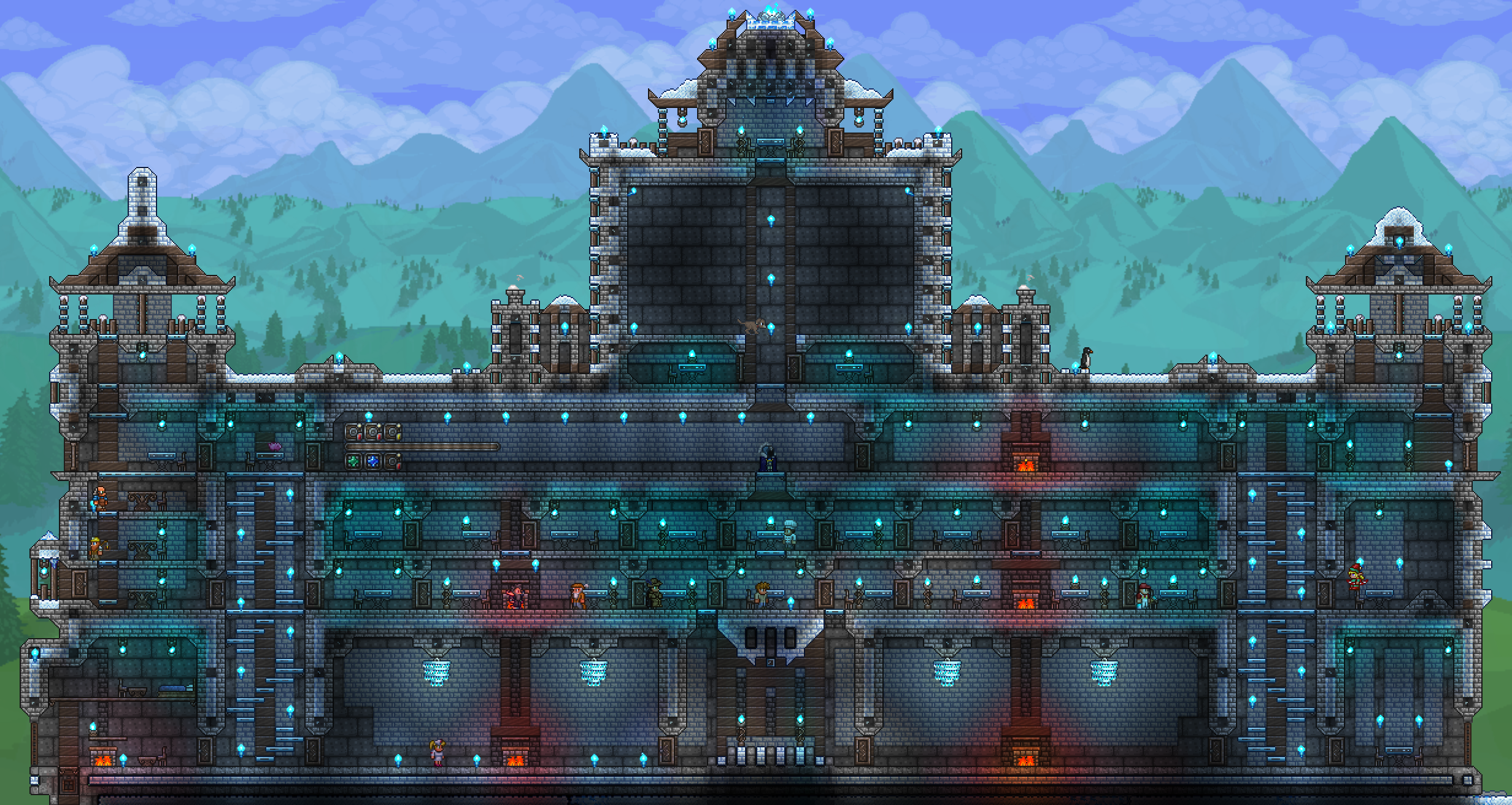 PreEOC base, still not done putting in furniture, tell me