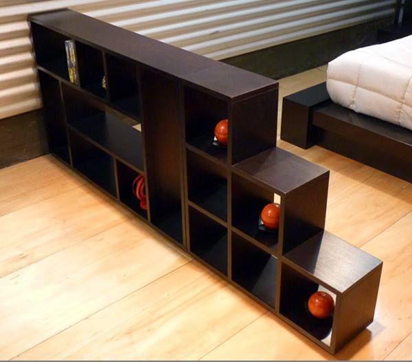 Librero moderno minimalista fn4 1 en - Libreros de madera modernos ...