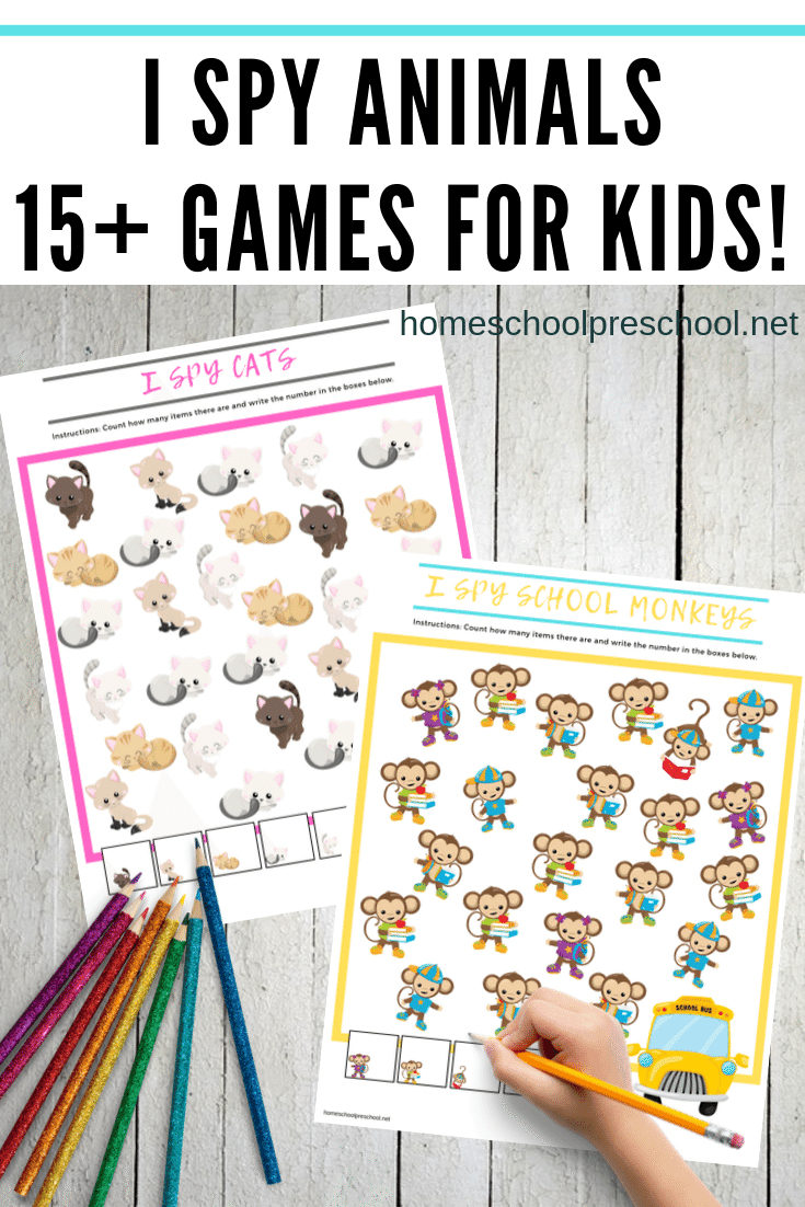 Teach Preschool Skills With I Spy Games For Kids Spy Games For Kids Free Preschool Printables I Spy [ 1102 x 735 Pixel ]