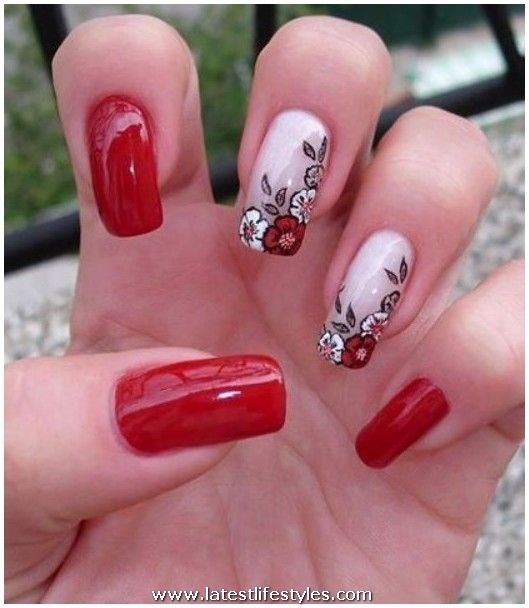 wedding nail designs | Wedding Acrylic Nail Polish Designs ...
