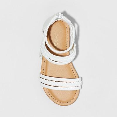 fbd4ebc436200 Toddler Girls' Naudia Gladiator Sandals - Cat & Jack White 6 in 2019 ...