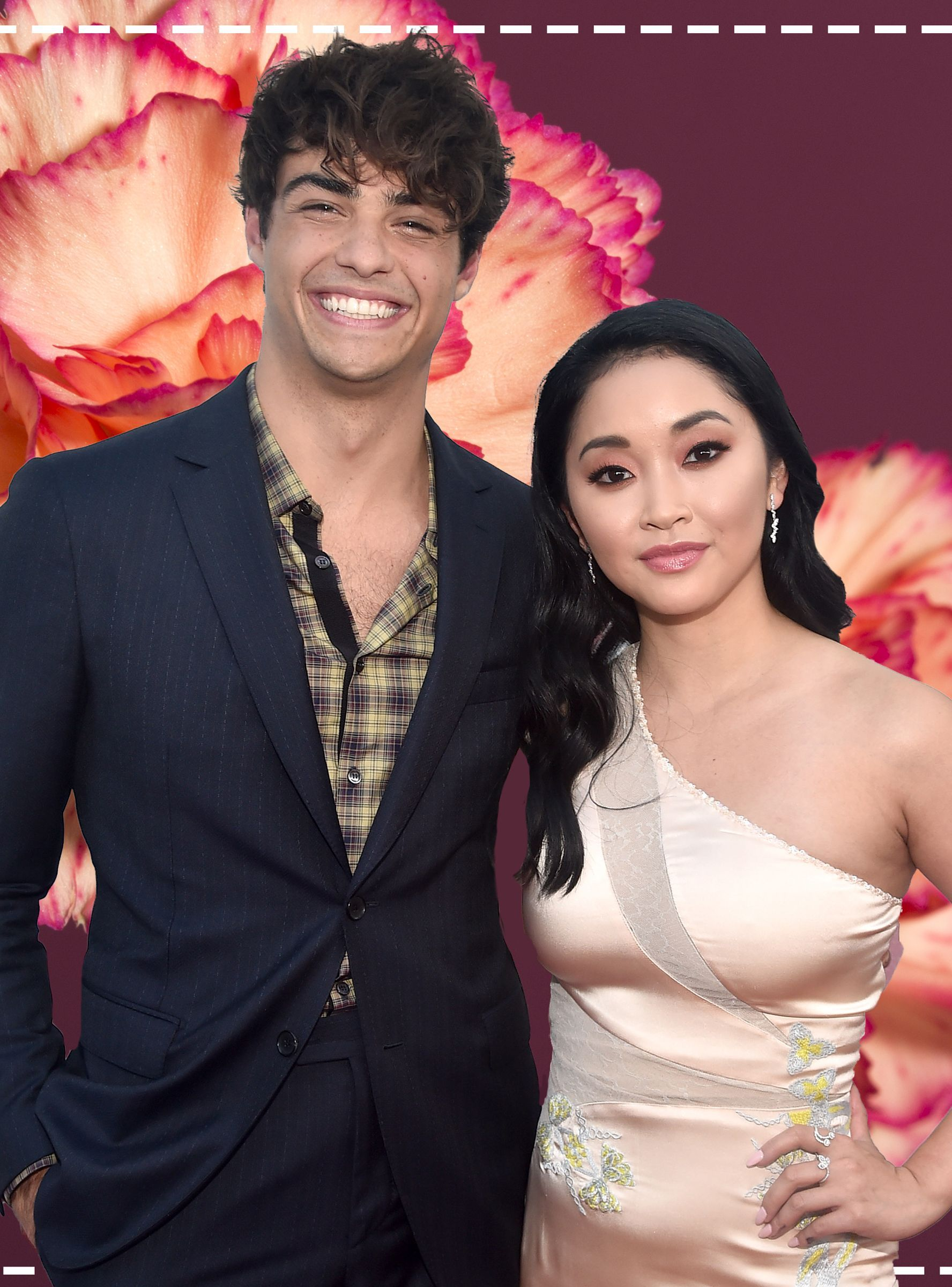 Lana Condor Noah Centineo Made A Contract Just Like Their To