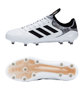 new style 7f5bf 55423 adidas Copa 18.1 FG - White Core Black Tactile Gold Metallic
