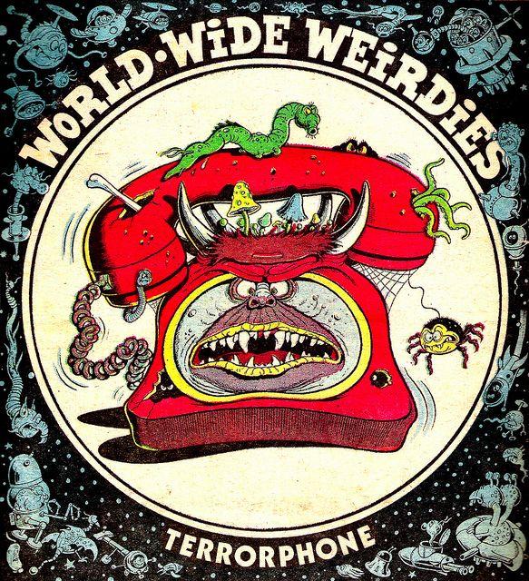 Ken Reid - World Wide Weirdies 81 by Aeron Alfrey, via Flickr