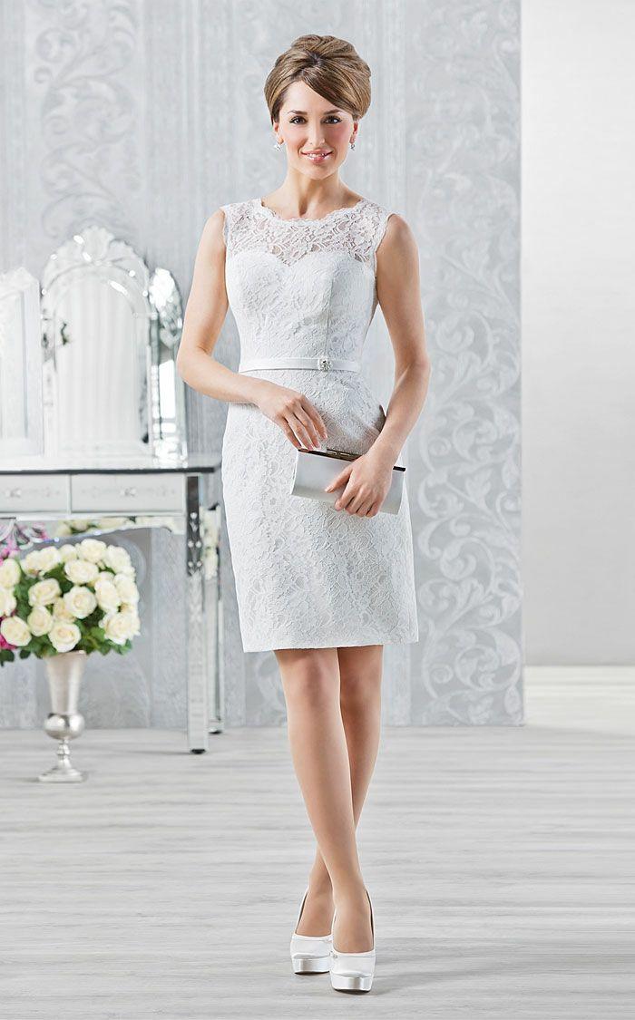 Kurze Brautkleider: 20 umwerfende Traumkleider für die modebewußte ...