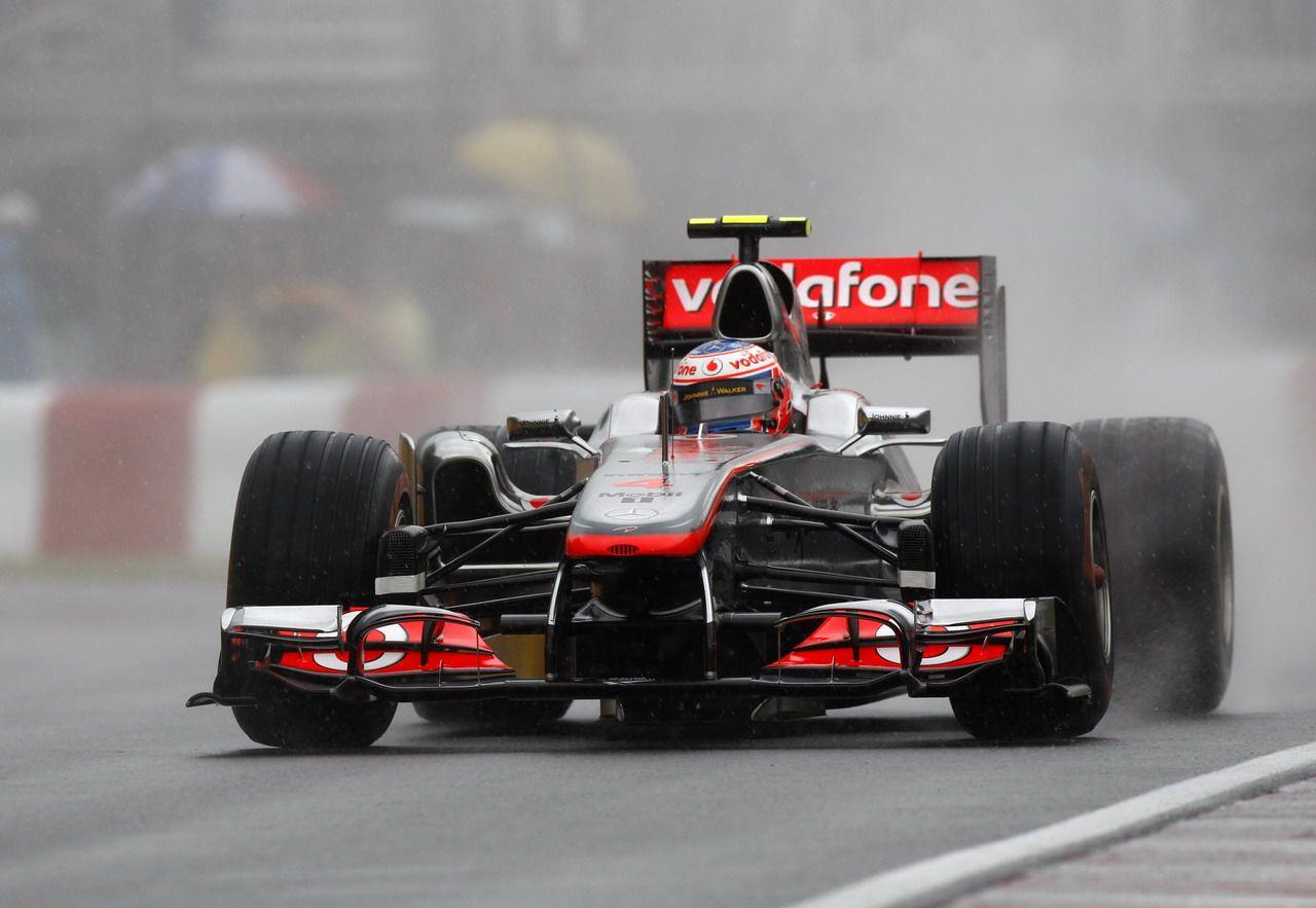 2011 Montreal Mclaren MP4-26 Jenson Button