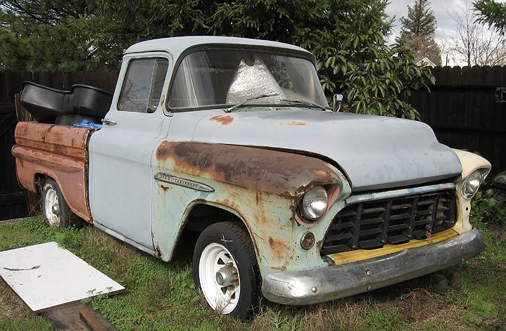 Anybody Have A 55 57 Chevy Truck Nastyz28 Com Chevy Trucks 57 Chevy Trucks Chevy