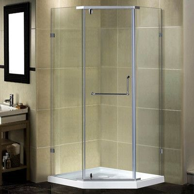 Aston 38 X 77 5 Neo Angle Hinged Shower Enclosure In 2021 Frameless Shower Doors Shower Enclosure Shower Doors