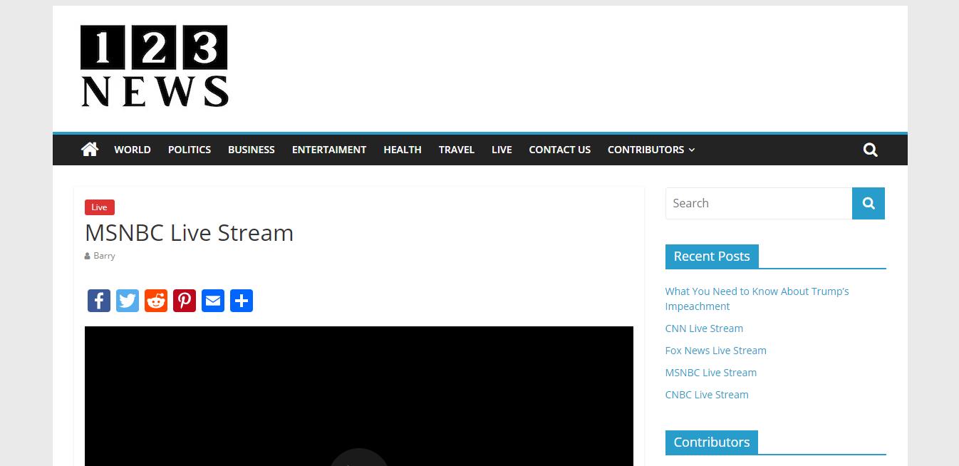 Msnbc Live Stream Msnbc Live Fox News Live Stream Cnn Live Stream