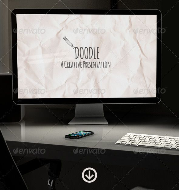 doodle - creative presentation - creative powerpoint templates, Presentation templates