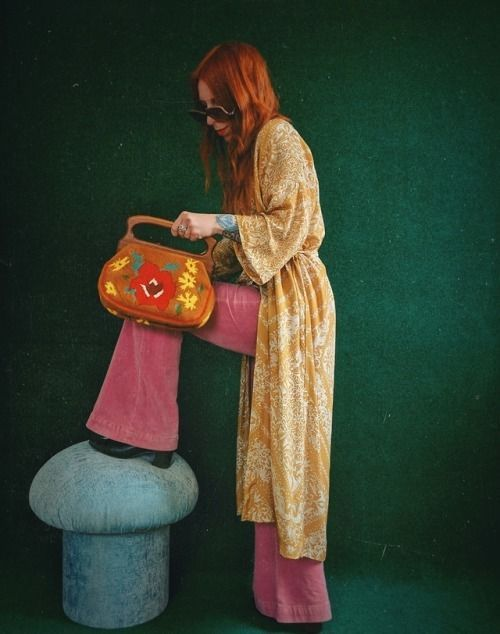 70s aesthetic,retro gift,vintage gift,hippie style,1970s ...