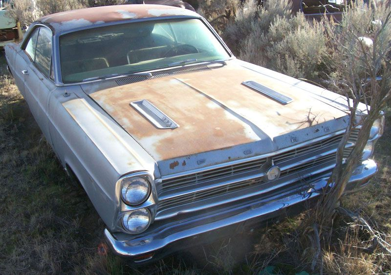 1966 Ford Fairlane Gt 390 4 Speed Car Silver For Sale 66