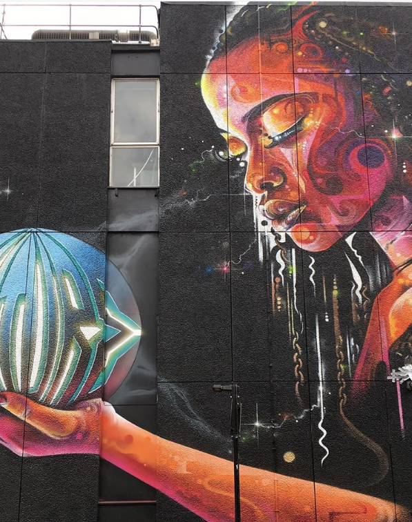 Mr Cenz On New Inn Yard, Shoreditch, London, 2018