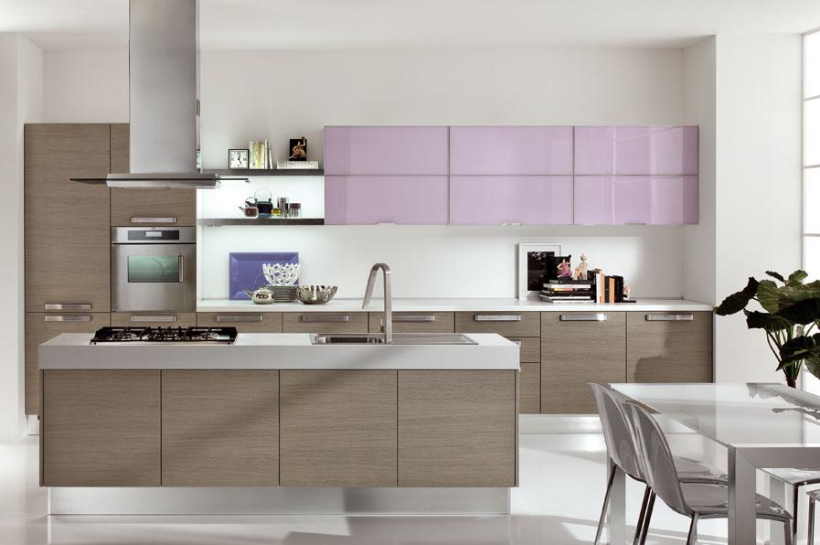 Cocinas Modernas Decoradas En Colores Claros Decoracion De