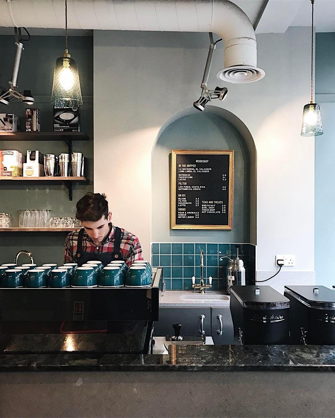 Workshop Coffee Bar Fitzrovia London Cafe Coffeeshop