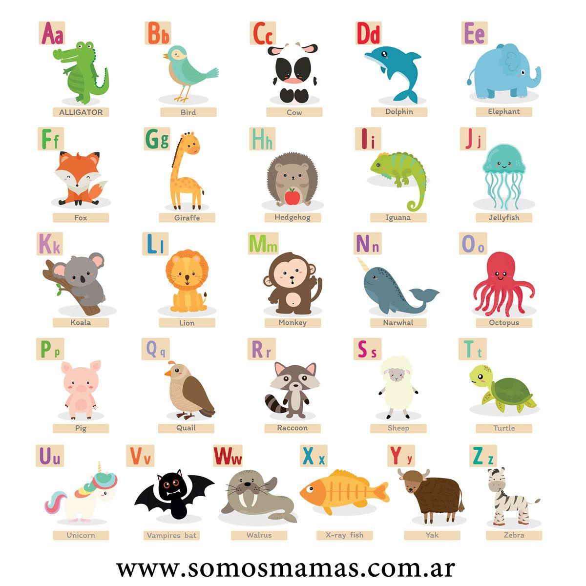 Animales En Ingles Lista De 150 Animales En Ingles Y Espanol Nombres De Animales Animales En Ingles Loteria De Animales