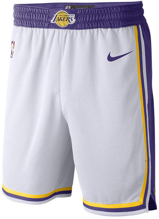 73159670ea Men's Los Angeles Lakers Association Swingman Shorts | Products ...