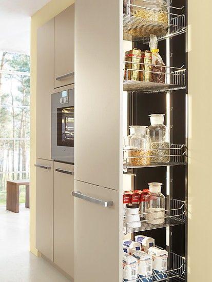 Ergonomie in der Küche Hochschränke praktisch und