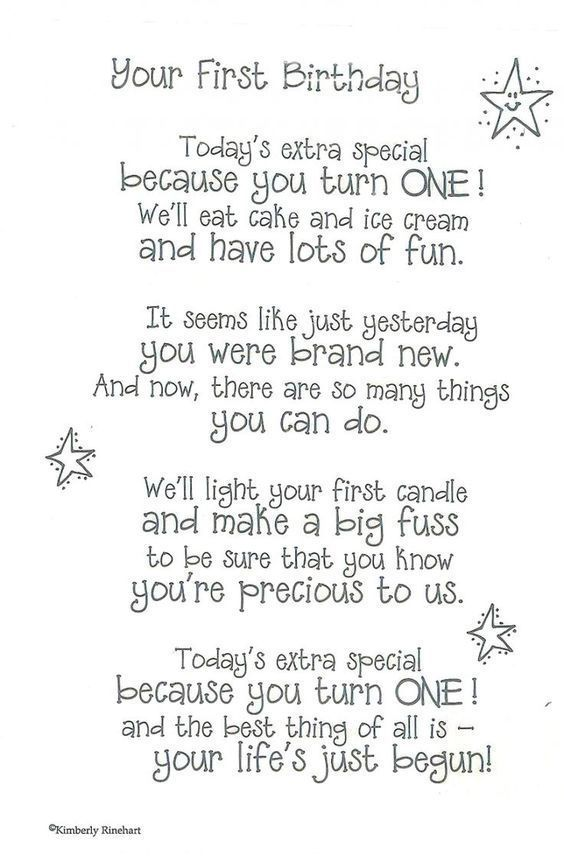 200 Wonderful 1st Birthday Wishes and Birthday Quotes for Babies