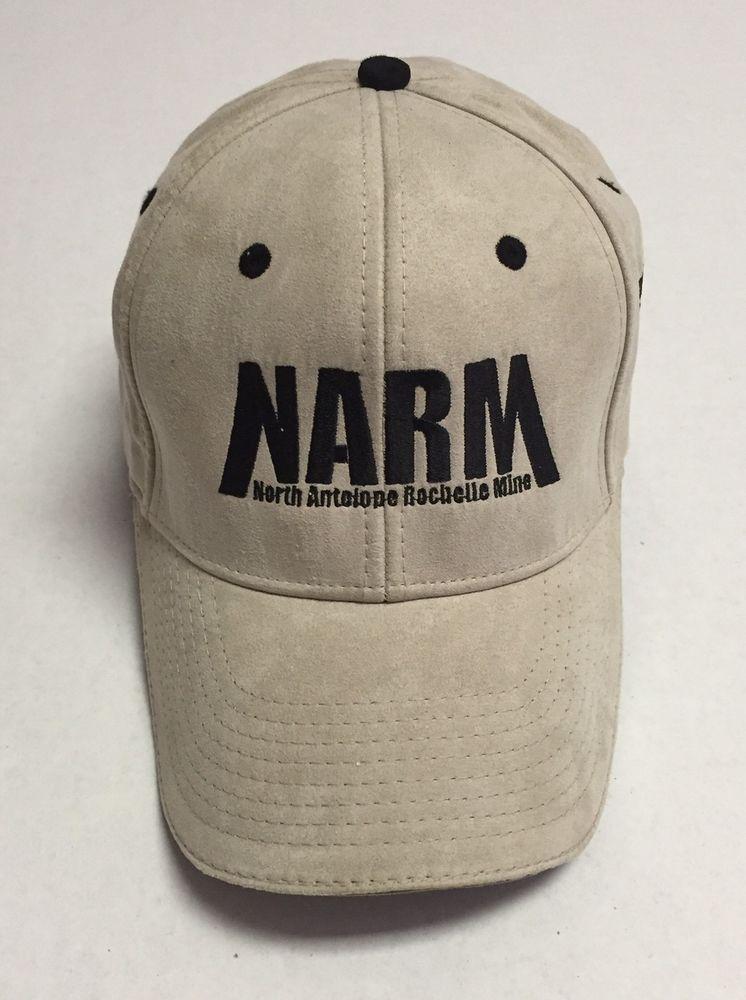 93a9e50b2 North Antelope Rochelle Mine Hat Peabody Energy Baseball Cap Wyoming NARM  Coal #Otto #BaseballCap