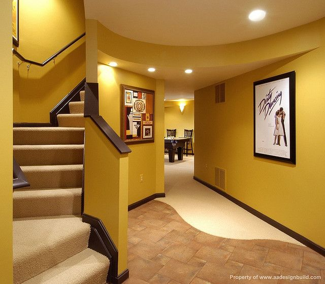 Remodeled Basement Our House Pinterest Basements Beauteous Remodeled Basement
