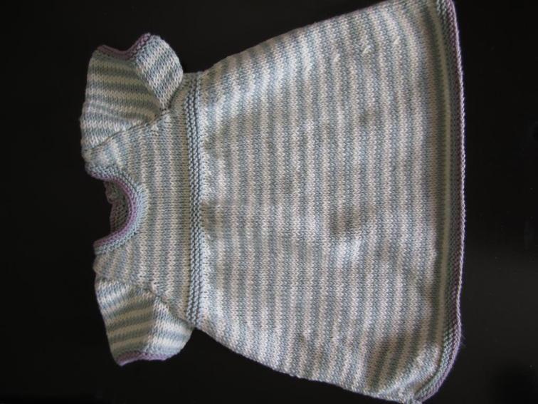 c7ce96687 Striped Knit Baby Dress