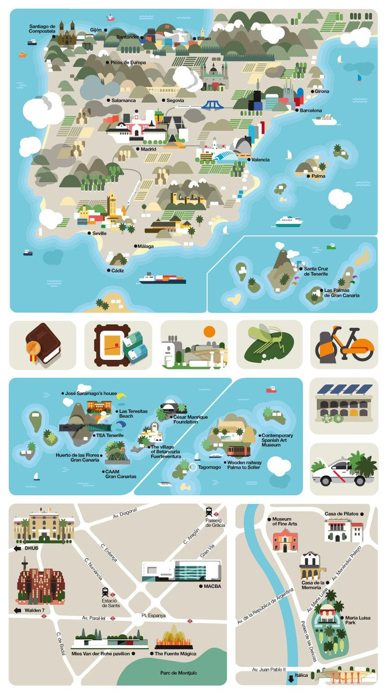 Hey Design Studio Feature Me Feature Me 视觉中国 Illustrated Map Travel Infographic Infographic Map