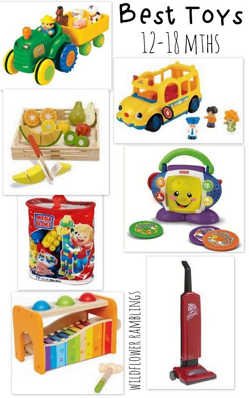 18 Month Old Toys For A Ball : Best baby toys to months and toy