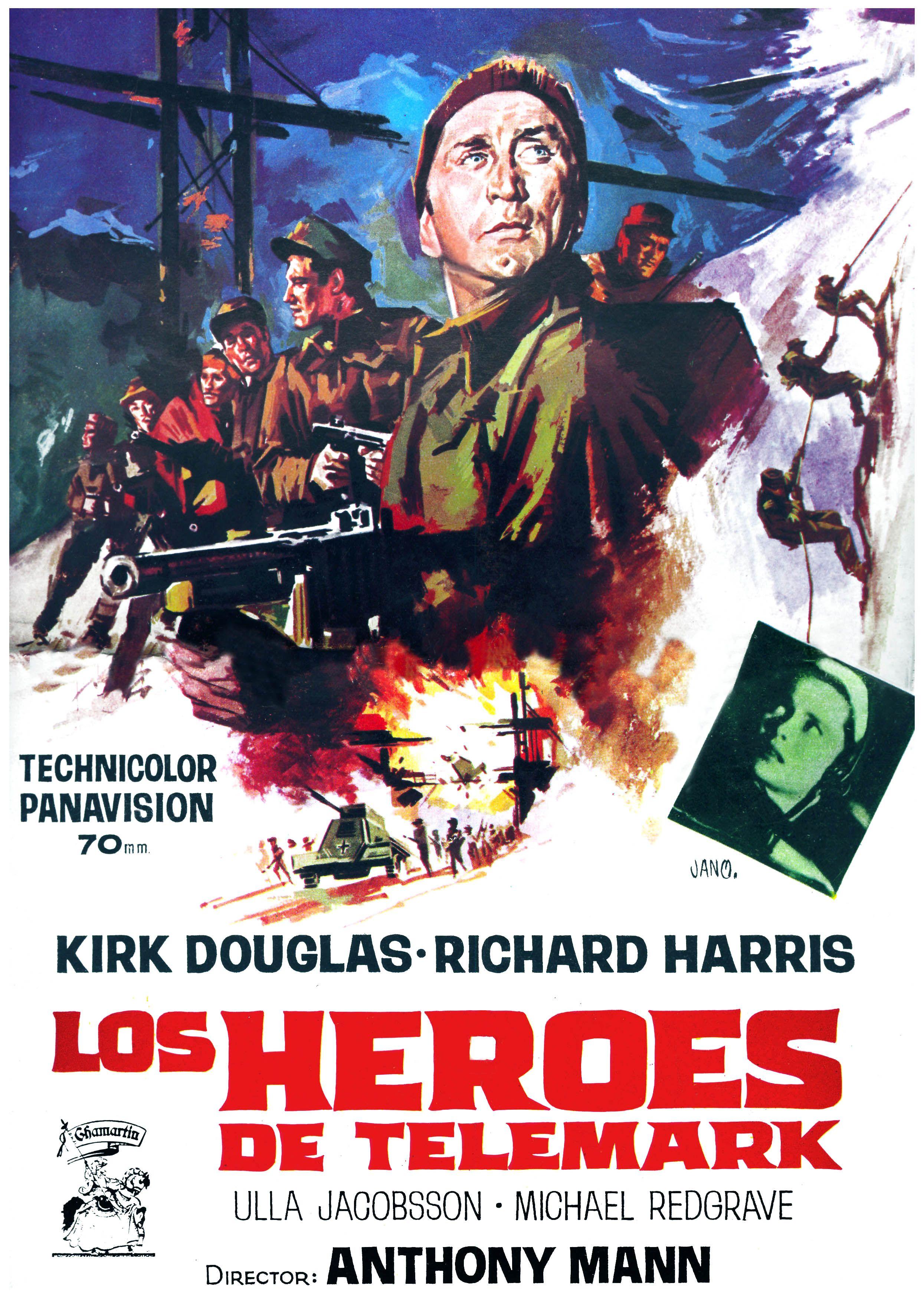 Image result for Los Héroes de Telemark