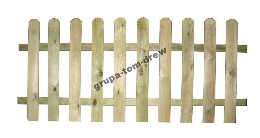 Plot 80x180 Sztachetowy Ryflowany Drewniany Plotek 4985643092 Oficjalne Archiwum Allegro