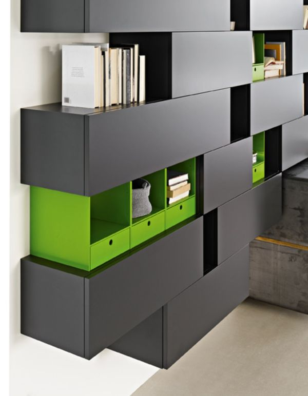 Meuble design unique modules forte piano de molteni pianos salons and storage - Construire un meuble en mdf ...
