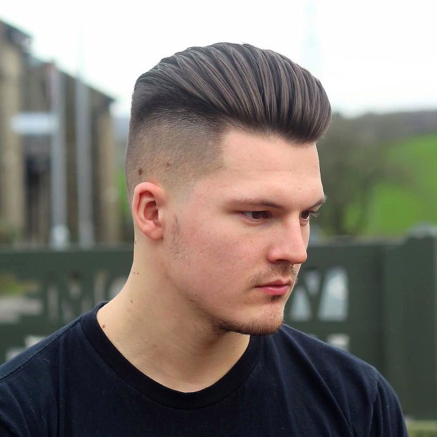 21 medium length hairstyles for men | high fade, haircuts and top
