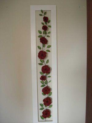 Rosas de lata