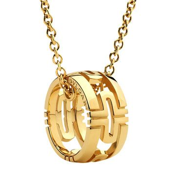 Bulgari parentesi open works 18k gold pendant jewellery bulgari parentesi open works 18k gold pendant aloadofball Gallery